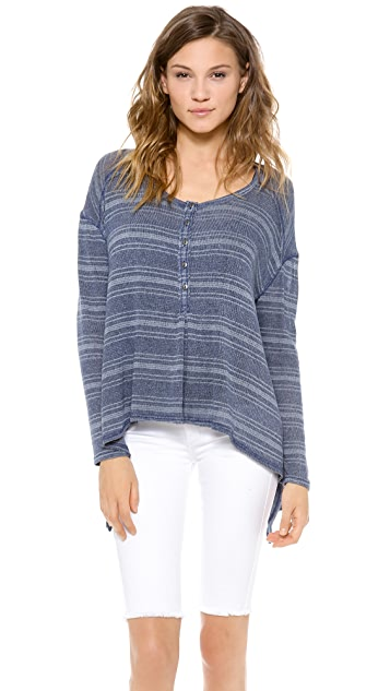 Free People Slinky Hacci Top