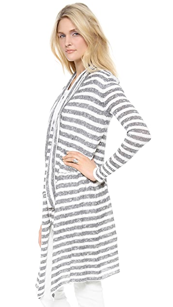 Free People Forget Me Not Stripe Cardigan