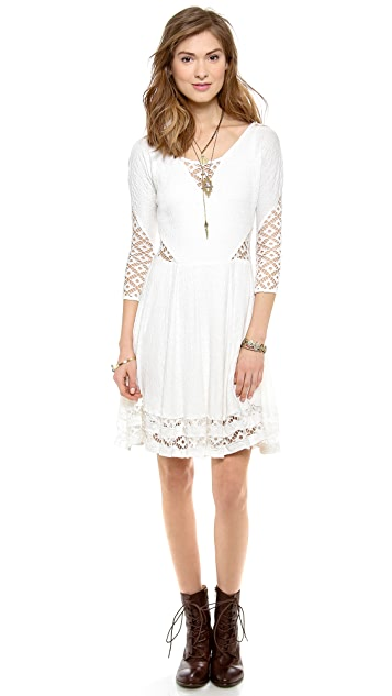 Free People To the Point Mini Dress