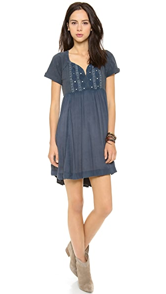 Free People La Mamounia Babydoll Dress