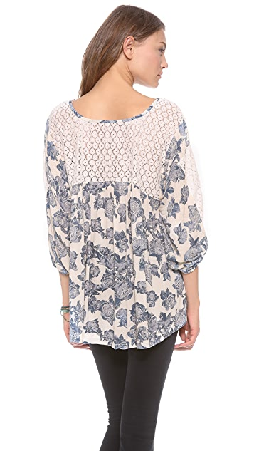 Free People Moon River Blouse