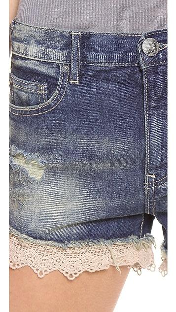 Free People Lacey Cutoff Shorts