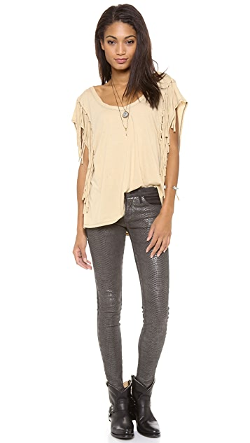 Free People Fantasy Fringe Tee