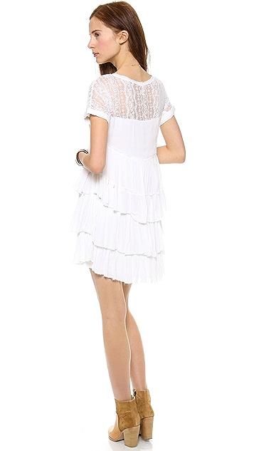 Free People Sunbeams Mini Dress