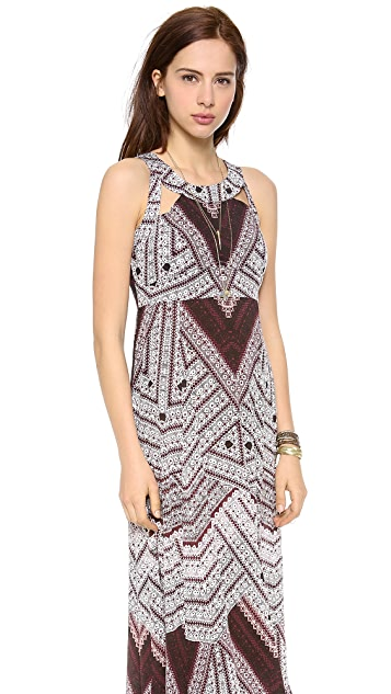 Free People You Made My Day Printed Maxi Dress