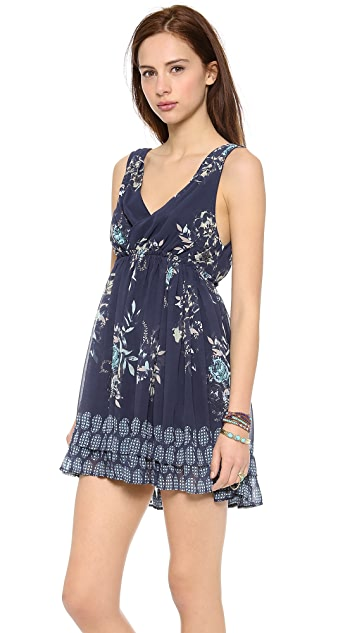 Free People Spring Fever Mini Dress