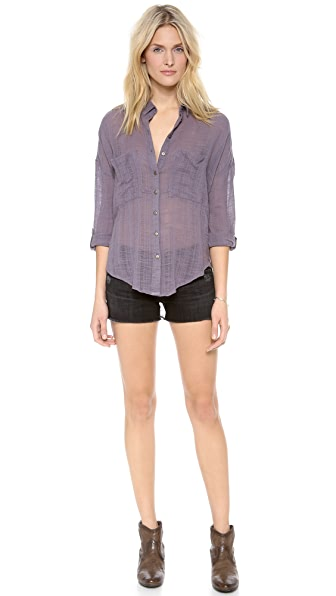 23927ac26 Free People Shibori Siren Button Down | SHOPBOP