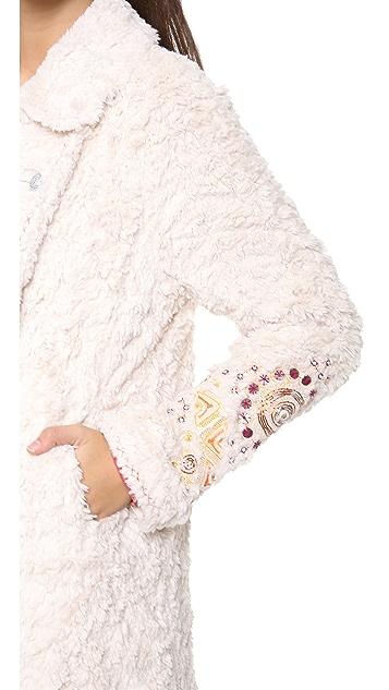 Free People Faux Fur Coat
