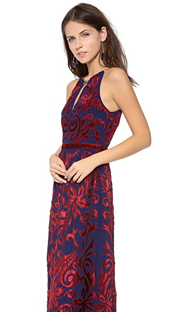 Free People Hedgemaze Maxi Dress