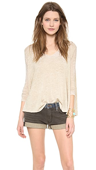 Free People Sunday Tee