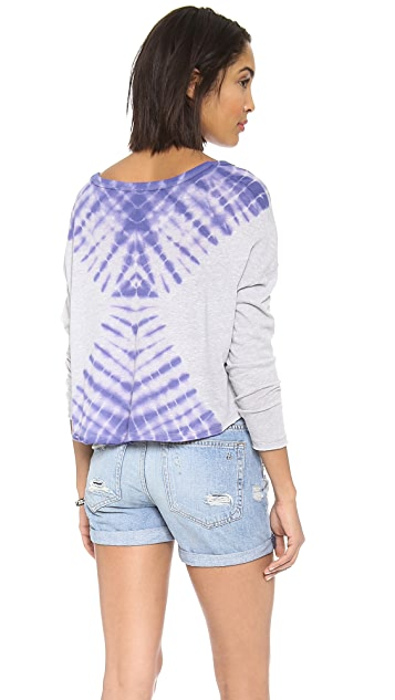 Free People Sundown Washed Top