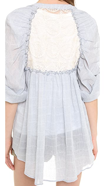 Free People Put Your Back Into It Top