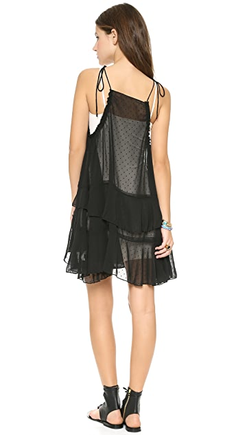Free People Relaxed Tired Ruffle Dress