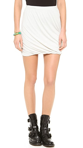 Free People Heather Twisted Bubble Skirt