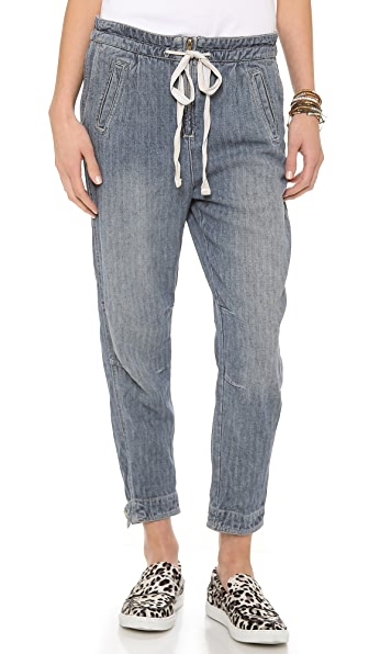 Free People Easy Harem Jeans