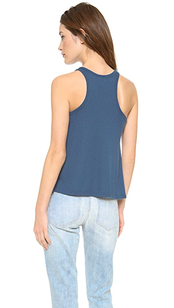 Free People Ribbed Long Beach Tank