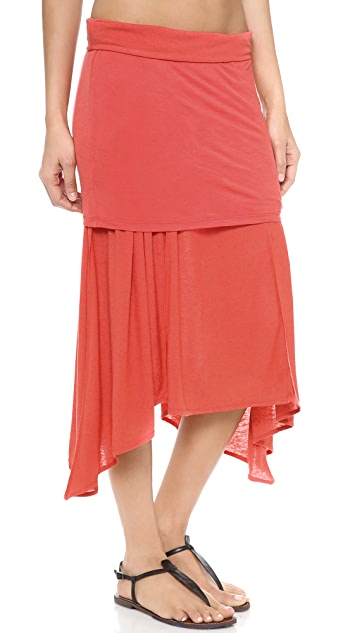 Free People Flip It & Reverse It Skirt