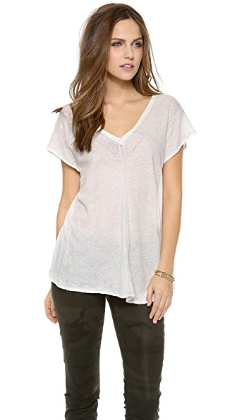 Free People At the Seams Tee