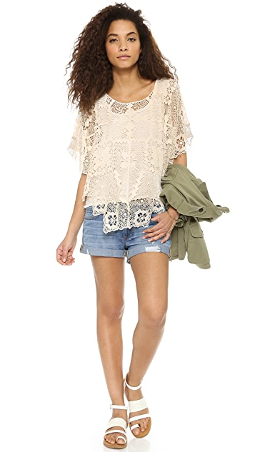Free People Bad Romance Pullover