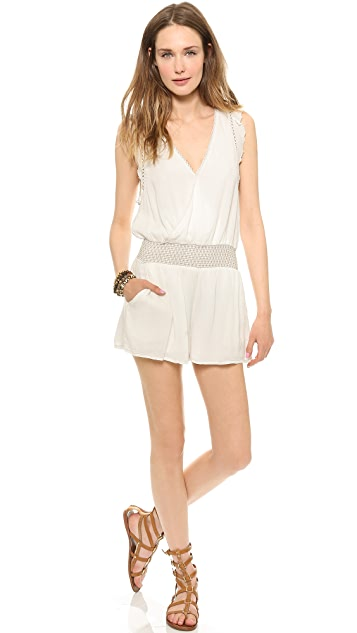 Free People Soft Surplice Romper