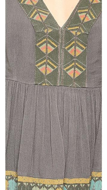 Free People Terra Nova Printed Dress