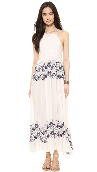 Free People Babydoll Maxi Dress