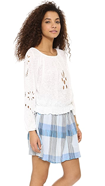 Free People Jewel Blouse