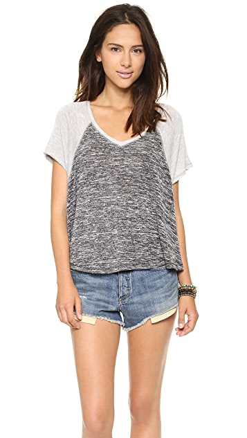 Free People Dancing in the Rain Tee