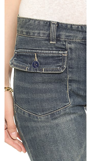 Free People Tailored Fit n Flare Jeans
