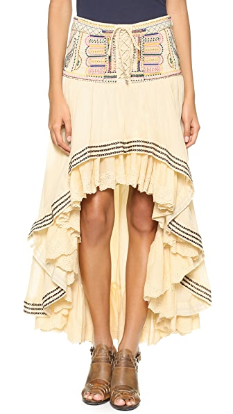 Free People Praire Dreams Skirt