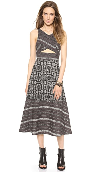 Free People Tribal Tale Dress
