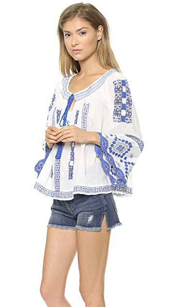 Free People Prism Silver Springs Swing Top