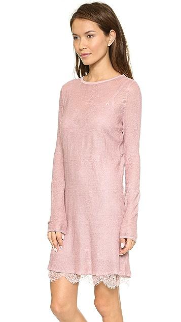 Free People Jane Eyre Twofer Sweater Dress