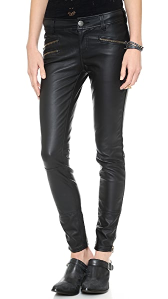 Free People Vegan Skinny Pants