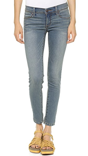 Free People Roller Crop Skinny Jeans