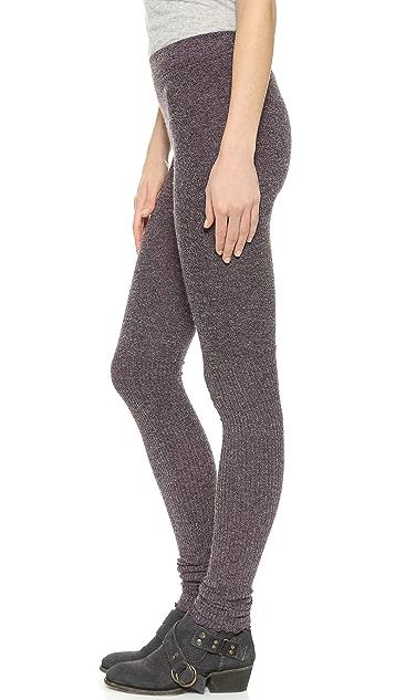 Free People Heathered Knit Leggings