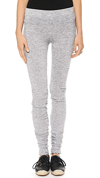 Free People Heathered Knit Leggings