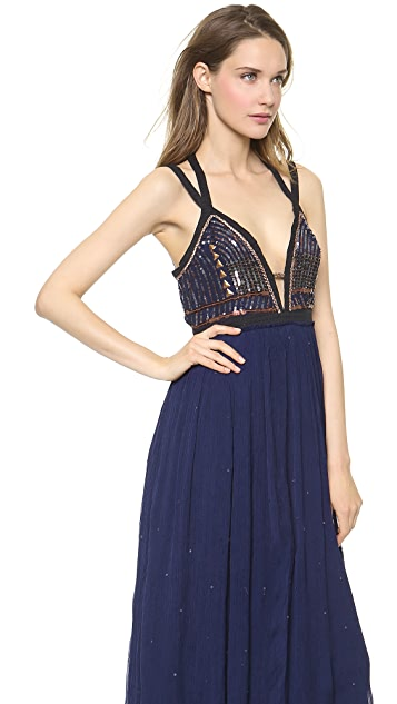 Free People Golden Chalice Dess