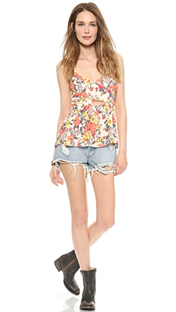 Free People Midnight Garden Top