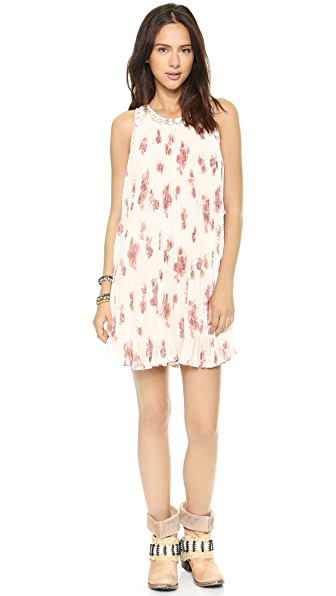 Free People Pleated Tent Dress