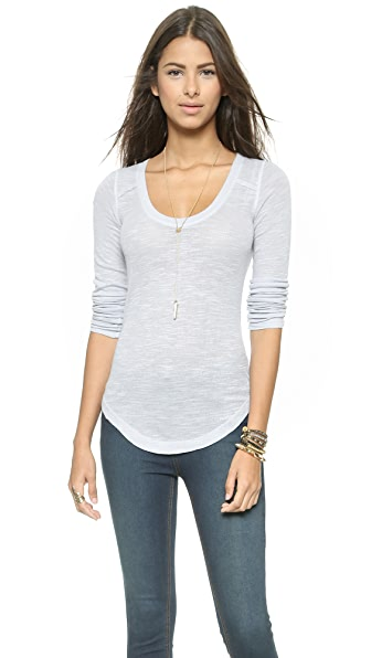 Free People Layering Me Long Sleeve Top