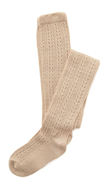 Free People Pointelle Knee High Socks