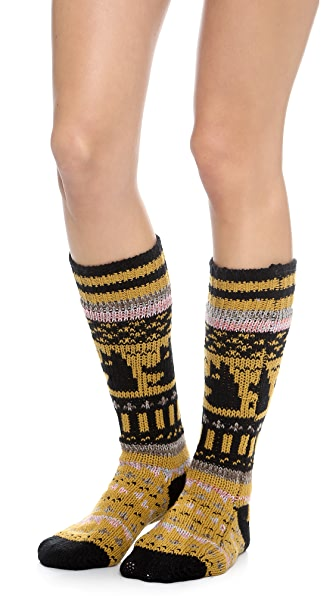 Free People Cozy Nepali Socks