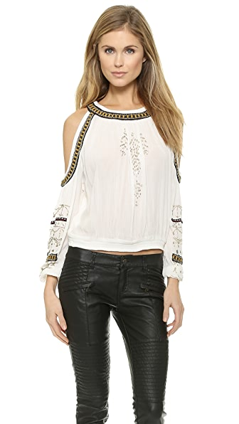 Free People Give Him the Cold Shoulder Top