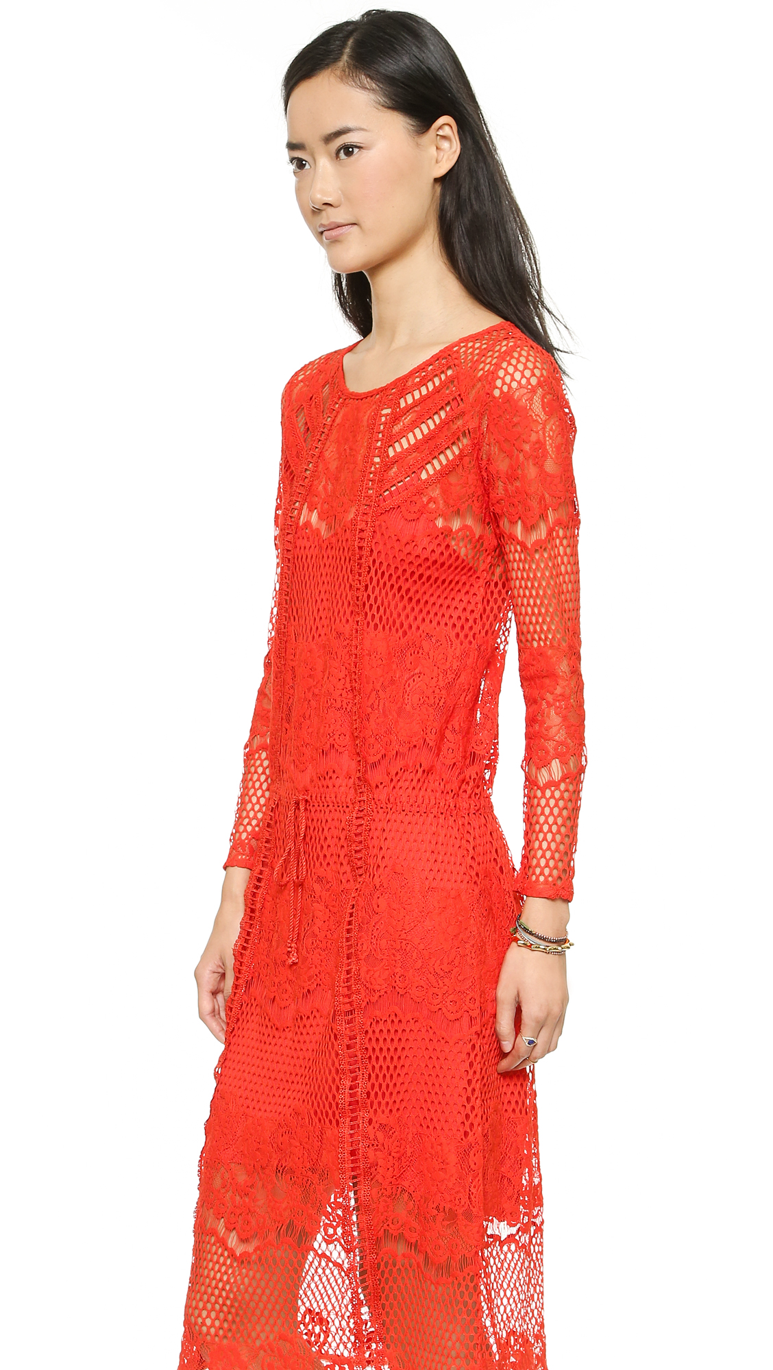 Free People Luna Lace Dress | SHOPBOP