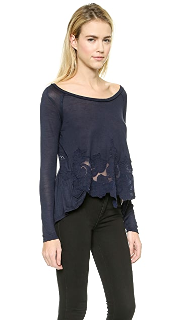 Free People That's Amore Tee