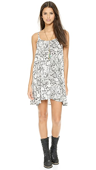 Free People Printed Emily Dress