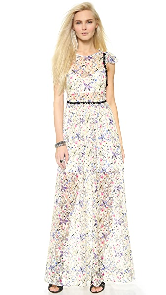 Free People Cherry Blossom Maxi Dress