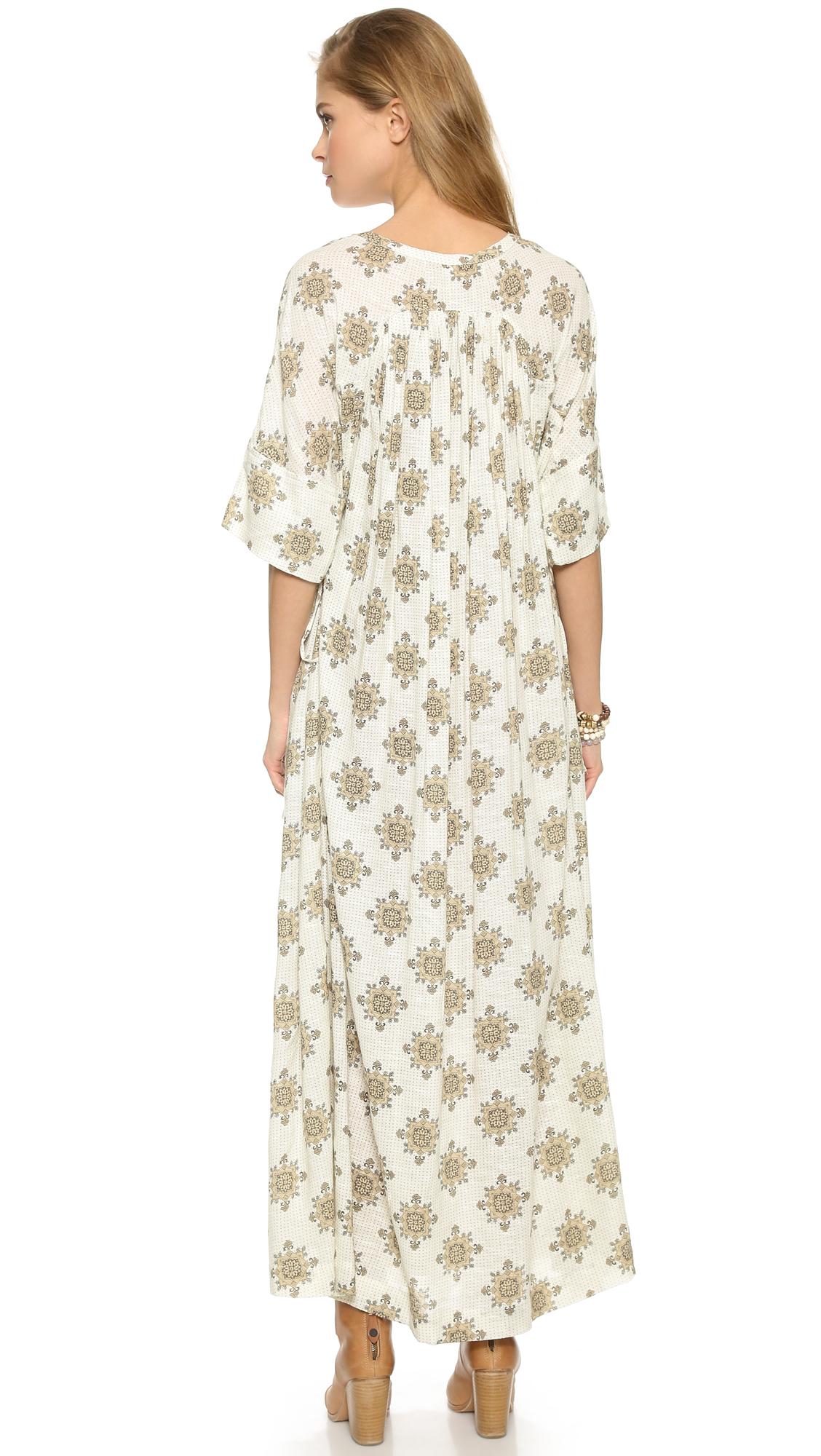 21f0654afa999 Free People Printed Oasis Maxi Dress