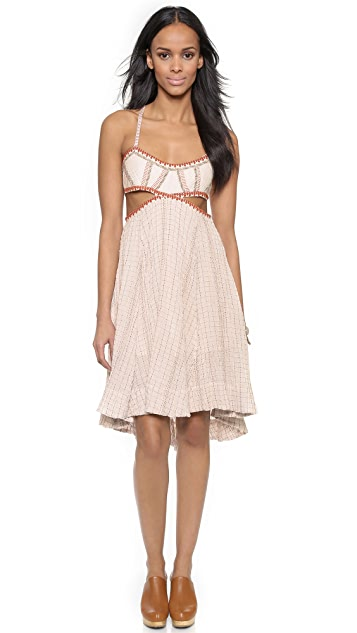 Free People Smock Stitch Dress